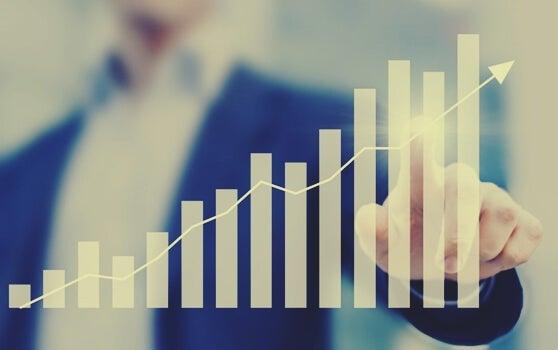 grafica ascendente para mejorar tu productividad
