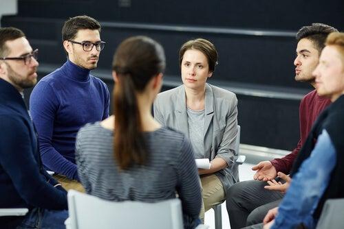 Grupo de psicólogos