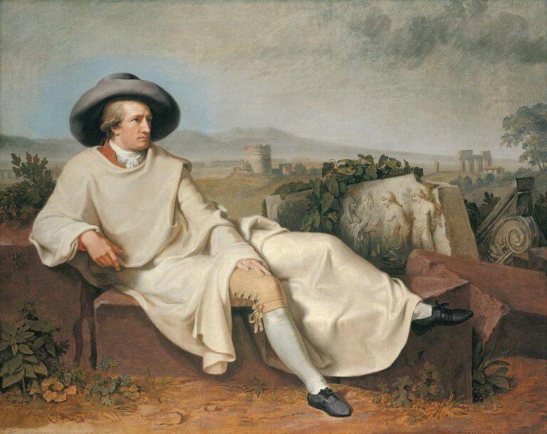Retrato de Goethe
