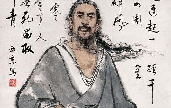 pintura del Tao que representa cómo lidiar con las personas difíciles
