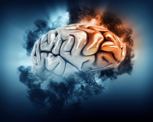 Lóbulo frontal iluminado