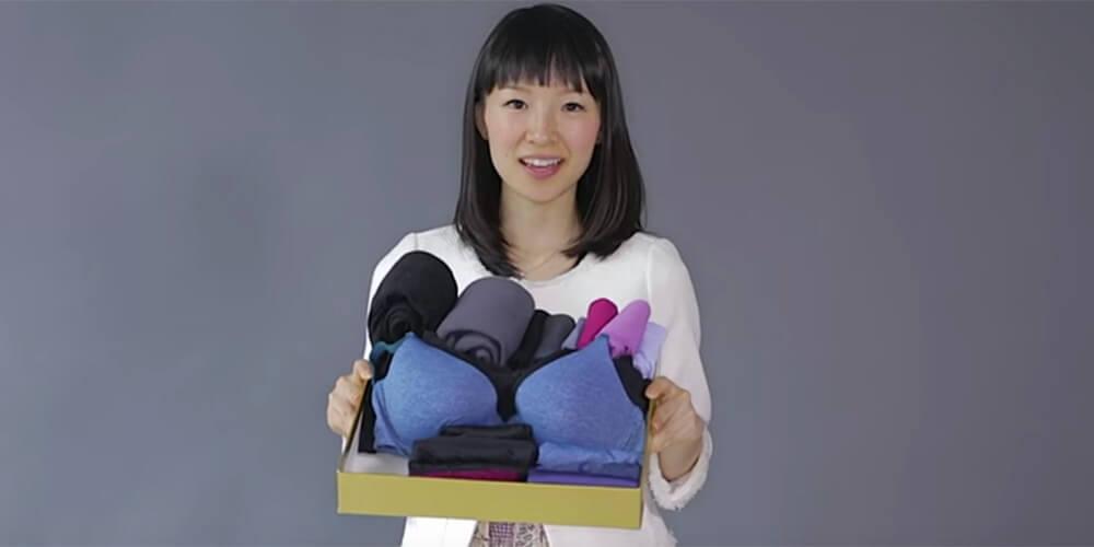 Marie Kondo representando la disciplina en Japón
