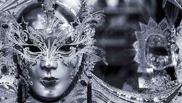 mascara representando el morbo
