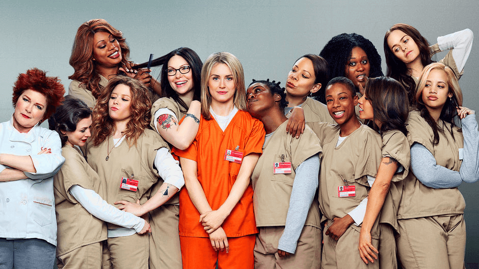 Mujeres de la serie Orange is the new black