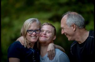 Padres con hijo con discapacidad