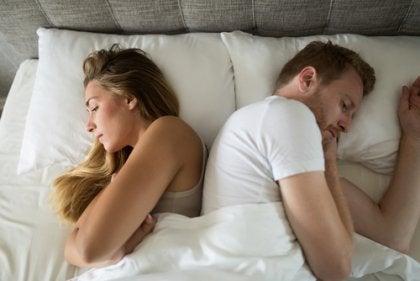 Matrimonio sin sexo en la cama