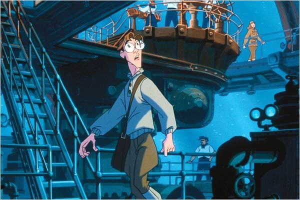 Personaje de Atlantis