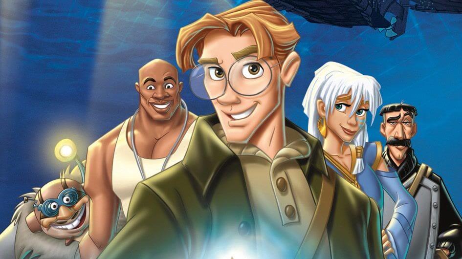 Personajes de Atlantis