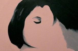 pintura de una pareja representando cuando la mente te engaña