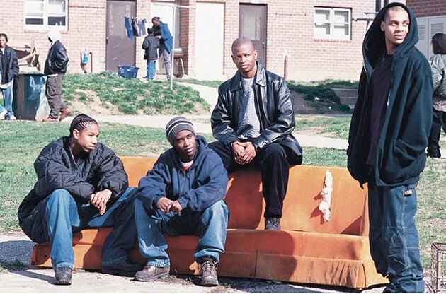 Vecinos del barrio de Baltimore