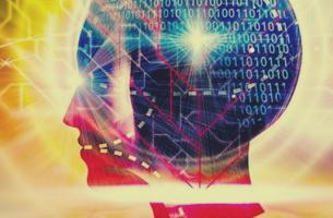 cerebro representando las nuevas tecnologías