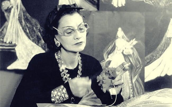 imagen representando las enseñanzas de Coco Chanel