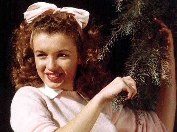 Marilyn Monroe en adolescencia