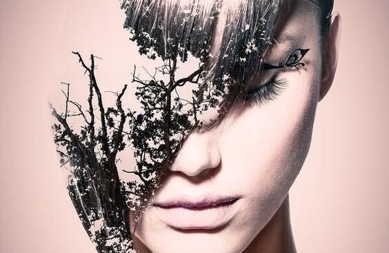 Mujer que que afronta sus trastornos con el psicoanálisis interpersonal