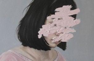 mujer que tiene miedo a perder el control