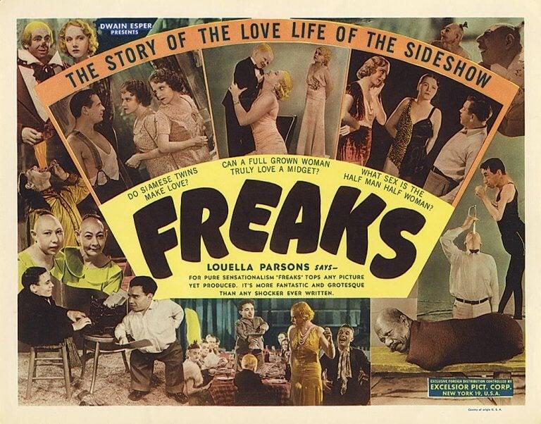 Película Freaks