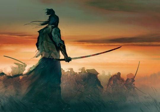samurai en la batalla simbolizando el camino del guerrero