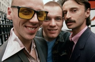 Tres personajes de trainspotting