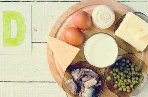 alimentos que refuerzan la buena salud entre el cerebro y la vitamina D