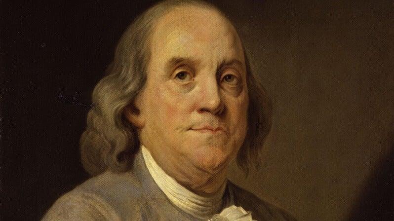 5 frases de Benjamin Franklin repletas de sabiduría