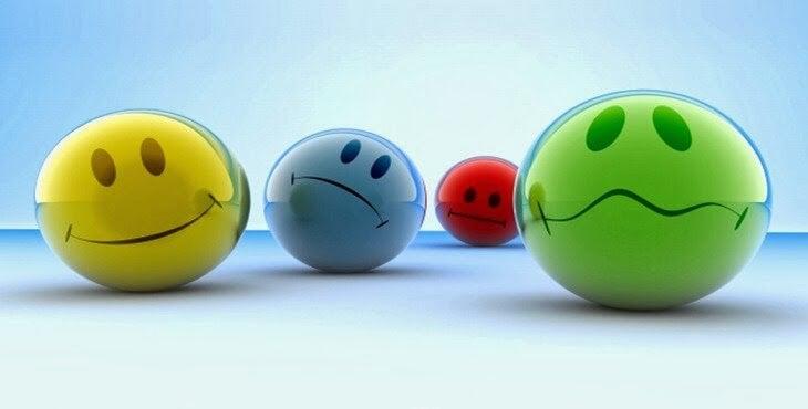 Bolas representando emociones