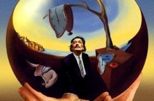Dalí con relojes blandos