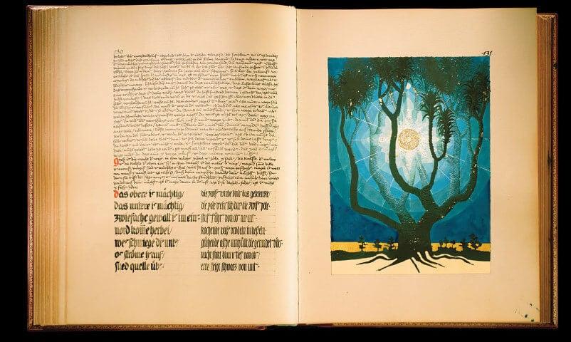 Páginas del el libro rojo de Jung