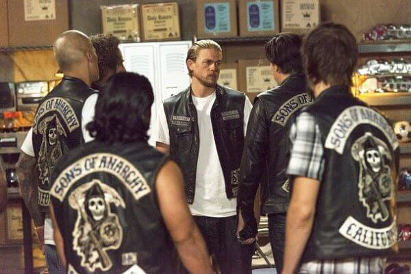 Escena de Sons of anarchy