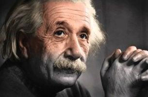 Fotografía de Albert Einstein