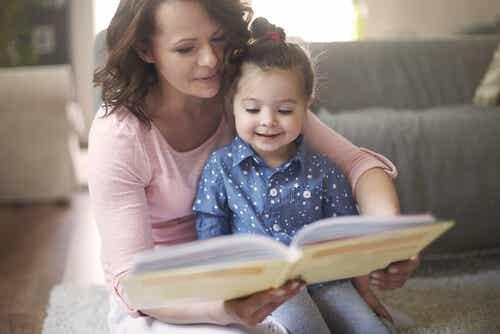 Beneficios de leer cuentos a los más pequeños