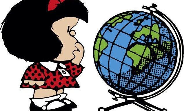 Imagen representando las frases de Mafalda
