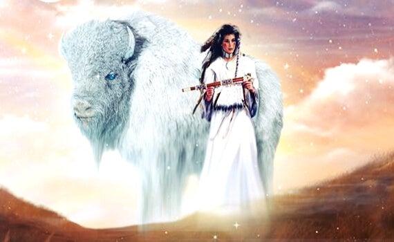 La mujer del búfalo blanco, una maravillosa leyenda de los indios americanos