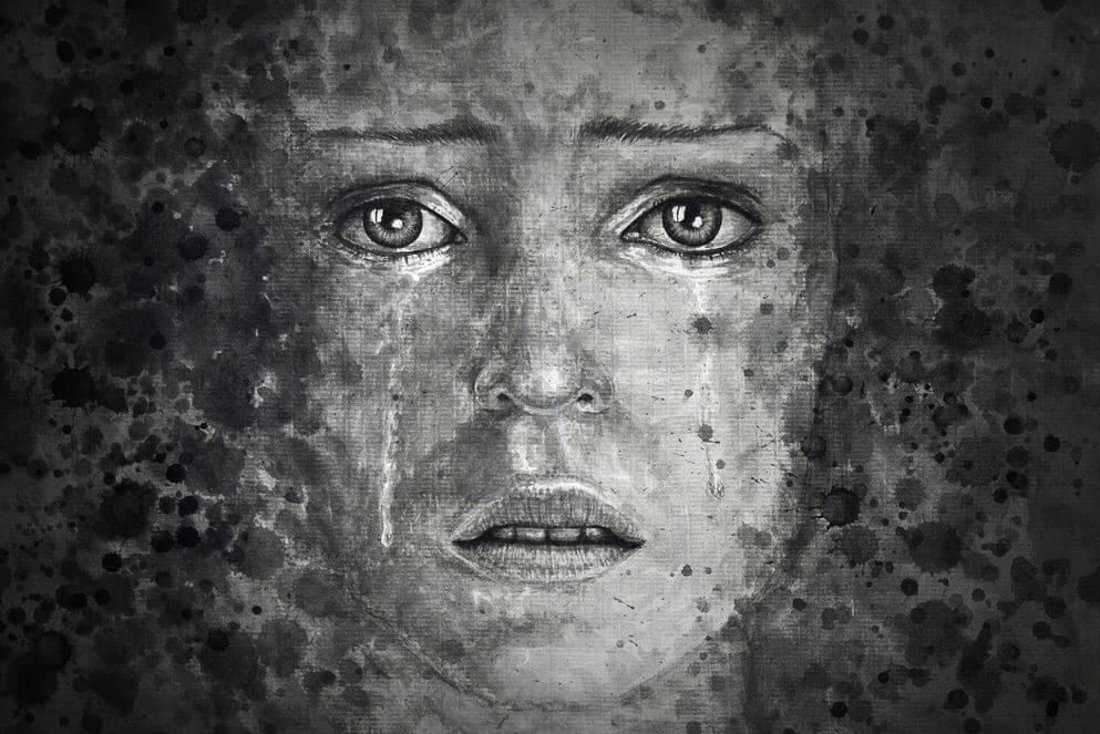 mujer simbolizando los miedos comunes