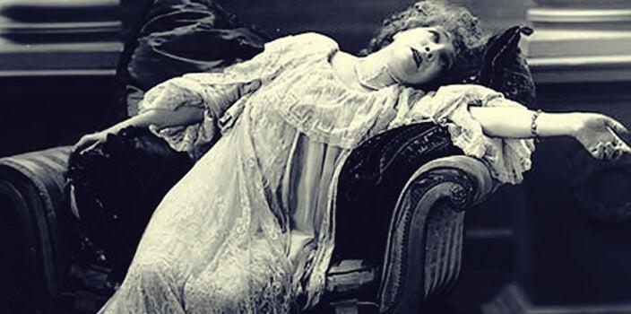 mujer tratada por charcot