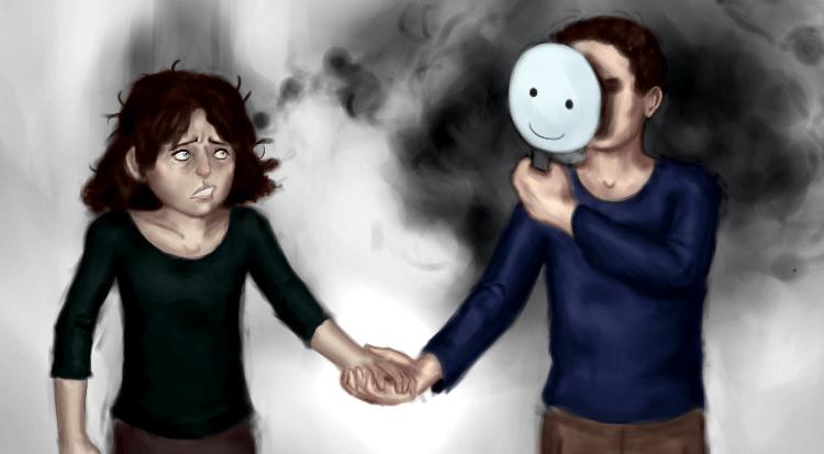 pareja cogida de la mano representando los síndromes de identificación fallida