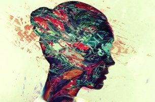 Perfil de cabeza de mujer