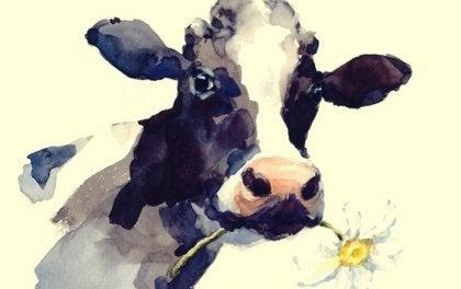 Tirar la vaca al barranco, una historia con moraleja