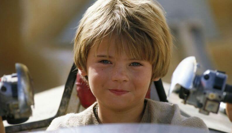 Anakin Skywalker de pequeño