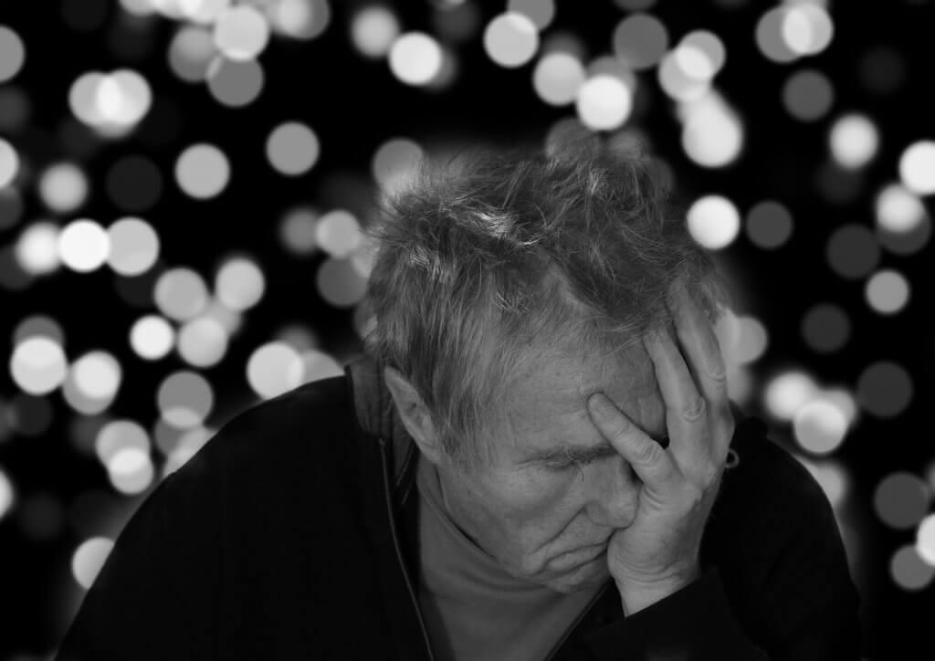 Anciano de Alzheimer