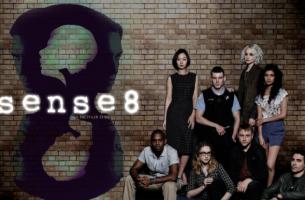 Cartel de Sense8 con personajes principales