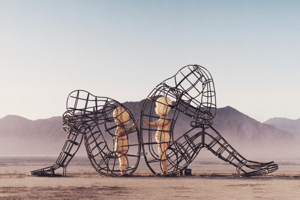 Escultura amor