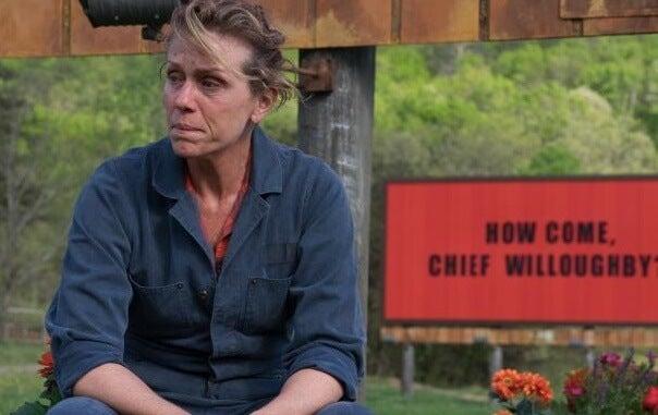 Frances McDormand en tres anuncios a las afueras