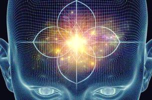 Crebro con luz