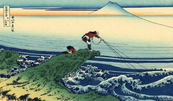 La bella historia del samurái y el pescador