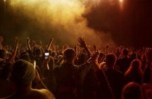 Personas de concierto