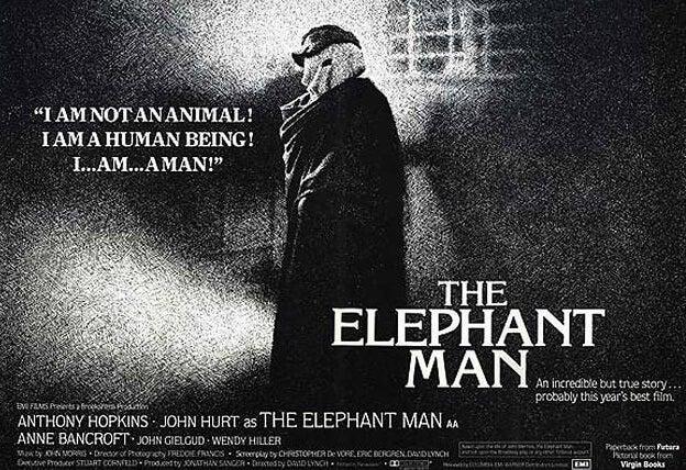 cartel del hombre elefante