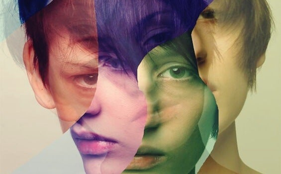 rostro fragmentado representando la Neurosis