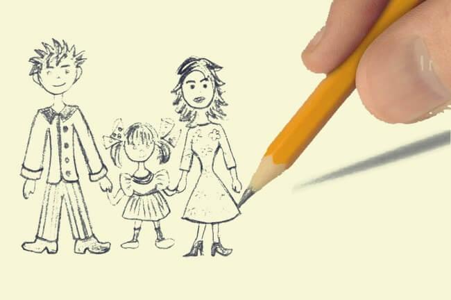 Test del dibujo de la familia, una interesante técnica proyectiva