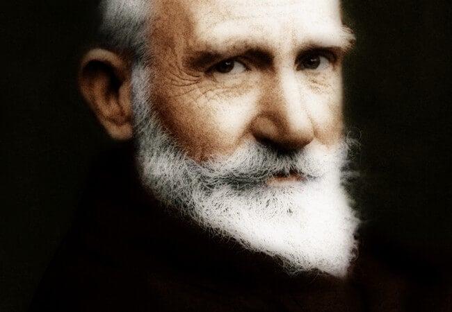 7 ingeniosas frases de George Bernard Shaw