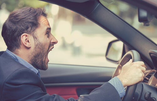 La agresividad del conductor